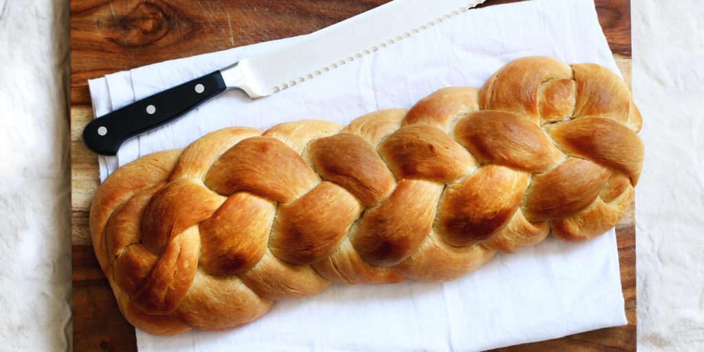 Home Made Braided bread